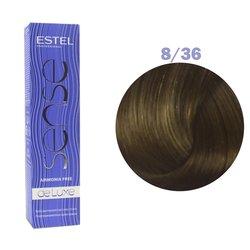 Краска для волос Estel Sense №8/36 (светло-русый золотисто-фиолетовый)