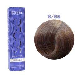 Краска для волос Estel Sense №8/65 (светло-русый фиолетово-красный)