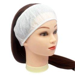 Повязка для волос одноразовая, 10 шт белый