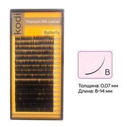 {[ru]:Ресницы Kodi изгиб B 0,07 16 рядов: 8-14 мм (20032371)[uk]:Ресницы Kodi изгиб B 0,07 16 рядов: 8-14 мм (20032371)
