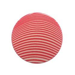Спонж для макияжа Puffy круглый, полосатый