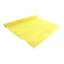 Коврик для маникюра резиновый 40х30 см, желтый