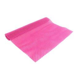 Коврик для маникюра резиновый 40х30 см, розовый
