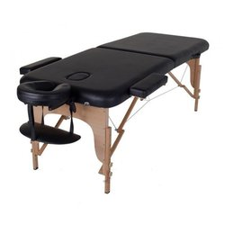 Массажный стол HQ02-MIA, черный