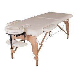 Массажный стол HQ01-TEO, светло-бежевый