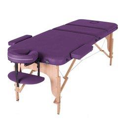 Массажный стол HQ08-DEN Comfort, фиолетовый