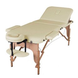 Массажный стол HQ03-DEN, светло-бежевый