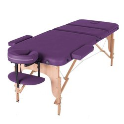 Массажный стол HQ03-DEN, фиолетовый