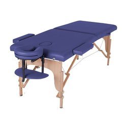 Массажный стол HQ01-TEO, синий