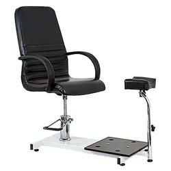 Педикюрное кресло Jetta с подножкой, черный (8915002 BLK)