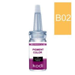 Пигмент для бровей KODI B02 карамель 10 мл