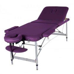 Массажный стол HQ11-LEO, фиолетовый