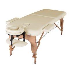 Массажный стол HQ02-MIA, светло-бежевый