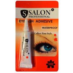 Клей для накладных ресниц Salon Professional Eyelash Adhesive Waterproof - водостойкий,черный, 7 г