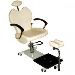 Педикюрное кресло Top Jetta с подножкой, бежевый (8915002TOP Y)