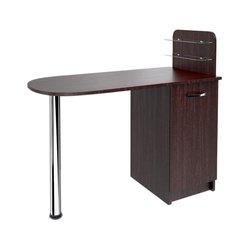 """Маникюрный стол """"Практик"""" MAX, черный"""