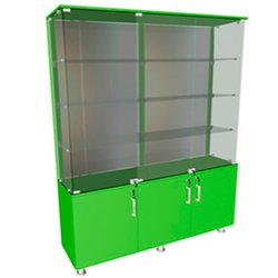 Витрина ВР010 (000716) - зеленый