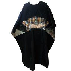 Пеньюар YRE- черный с прямоугольным окном