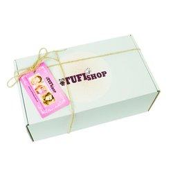 Подарочная коробка TUFISHOP - белая, 160х85х110 мм