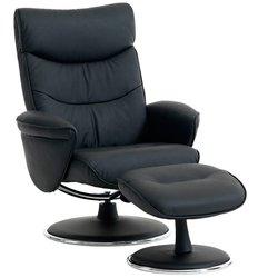 Педикюрное кресло NIELSBY (АРТ - 3616810Ю) с подставкой для ног - черный