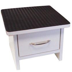 Подставка для ванночки (000723) с ящиком - белый