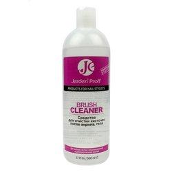 Средство для очистки кистей Jerden Proff от геля и акрила, 500 мл