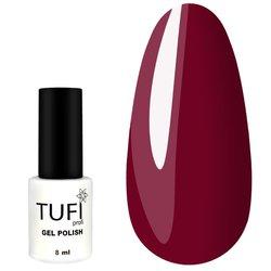 Гель-лак TUFI Profi №80 - красно-пурпурный, 8 мл