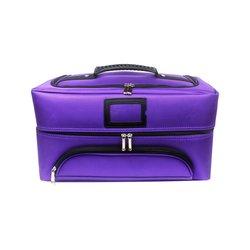 Чемодан-сумка для мастера тканевая YRE фиолетовая