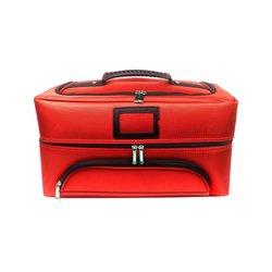 Чемодан-сумка для мастера тканевая YRE красная