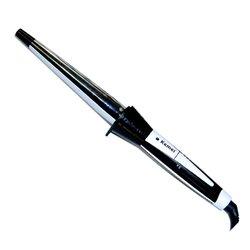 Конусная плойка Kemei 11-28 мм, черный (КМ-755)