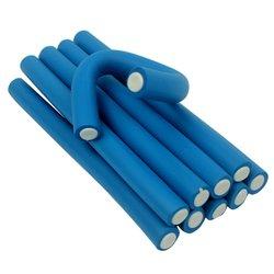 Бигуди-папильотки YRE - синий, 20х235 мм