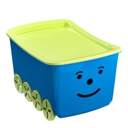 Корзина Smiley, сине-зеленый (3978401Ю)