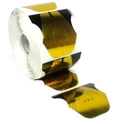 Форма для наращивания ногтей YRE - золото с черным , 500 шт