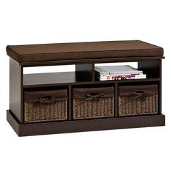 Банкетка OURE коричневая с подушкой (3833106Ю)