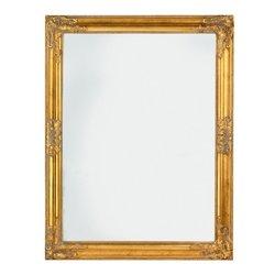 Зеркало RUDE, золотой (3805150Ю)