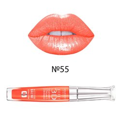 Блеск для губ, Bourjois Effet 3D Concentre Volume&Brillance 8h №55 - Orange energic (Гюю12030678)