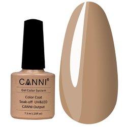 Гель-лак Canni №049 светлый серо-желто-коричневый, 7,3 мл