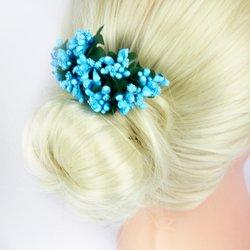 Цветок Барбарис букет - голубой
