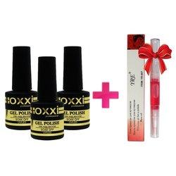 ТуфиШок: 3 гель-лака OXXI + масло-карандаш для кутикулы YRE в подарок