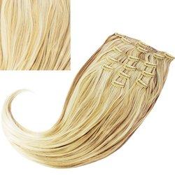 Волосы на заколках NEW CLIP 1672 color (t)16H613
