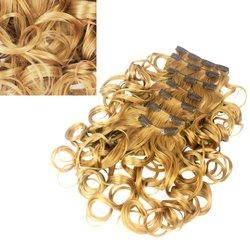 Волосы на заколках Global S3777G color 15,6 прядей, 55 см