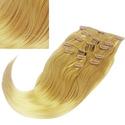 Волосы на заколках Diamond 222+15 см color 19, 8 прядей, 45-47 см
