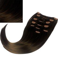 Волосы на заколках Diamond 222+15 см color 8, 8 прядей, 45-47 см