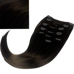 Волосы на заколках Diamond 222+15 см color 2, 8 прядей, 45-47 см