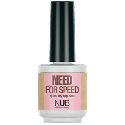 NUB Need For Speed - сушка-закрепитель для лака, 15 мл
