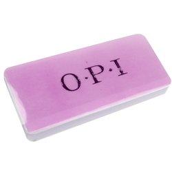 Бафик OPI плоский бело-розовый
