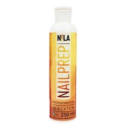 Nila Nail Prep - Жидкость для обезжиривания с антибактериальным эффектом, 250 мл