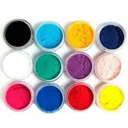 Бархат для ногтей,набор в баночках 12 цветов,большой