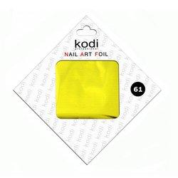 Фольга для литья Kodi Желтое золото №61