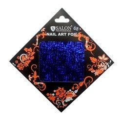 Фольга для литья Salon №68 - синий (голограммный)